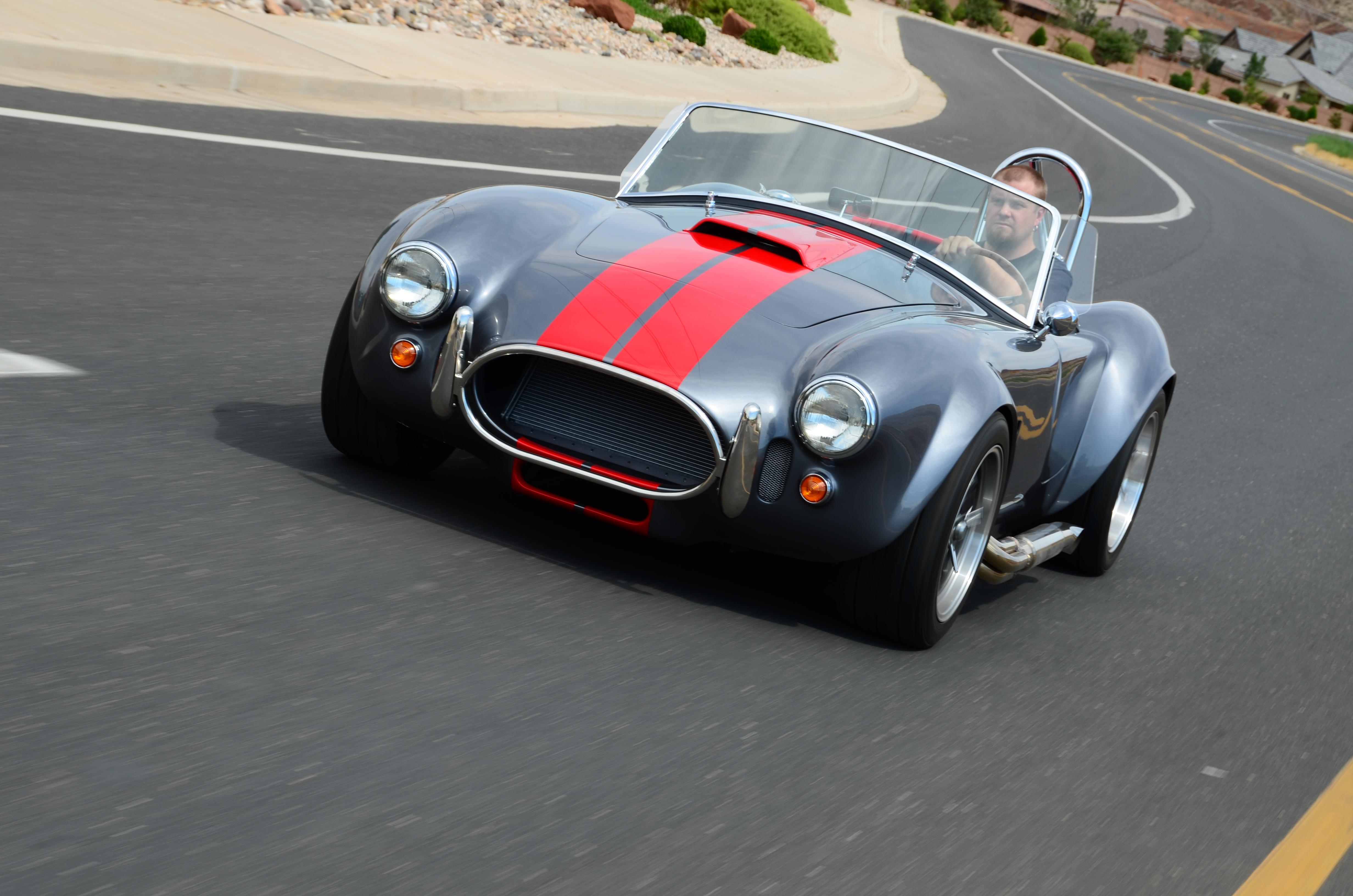 Factory Five Summit Racing Mk4 Build Part 1 Front