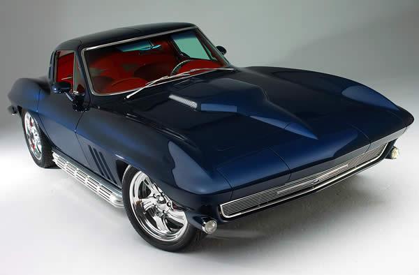 Midnight Madness Ron Champe S 1965 Corvette Sting Ray