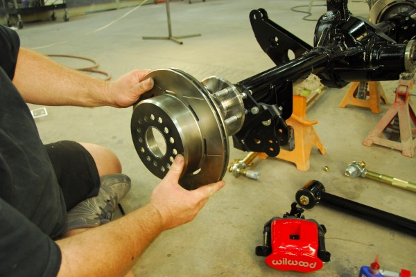 Summit Racing/Factory Five Mk4, brake rotors