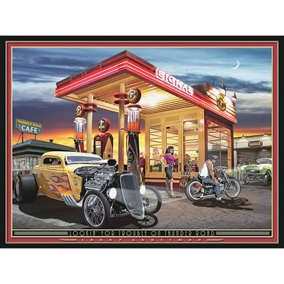 Automotive themed gifts for car guys for Garage prints