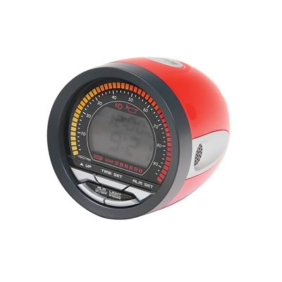 Turbo alarm clock