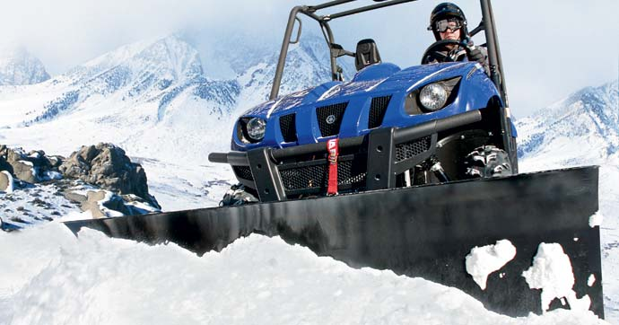 Best Side By Side Utv >> Let it Snow: An Introduction to Snow Plows for ATVs and ...