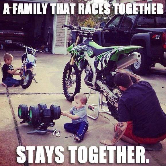 Family Races Together