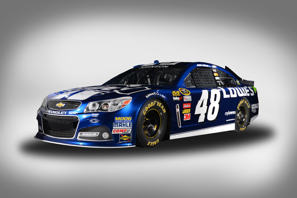 Jimmie Johnson Chevy >> NASCAR Aims to Rekindle Brand Rivalry With Gen-6 Stock Car ...