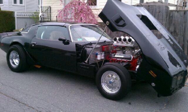 Laryssa's dad's 1979 Pontiac Trans-Am