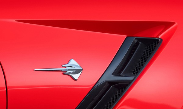 New Corvette Stingray badge