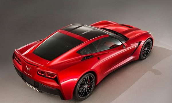 New Corvette Stingray rear