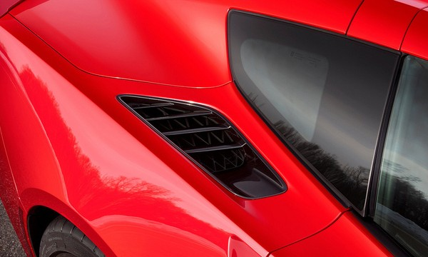 New Corvette Stingray side vents