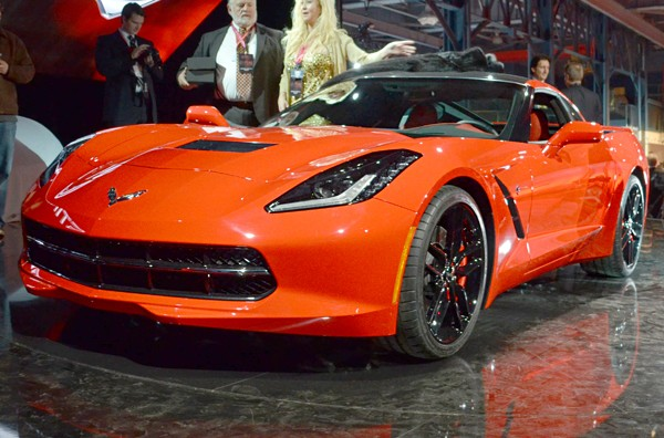 New corvette orange