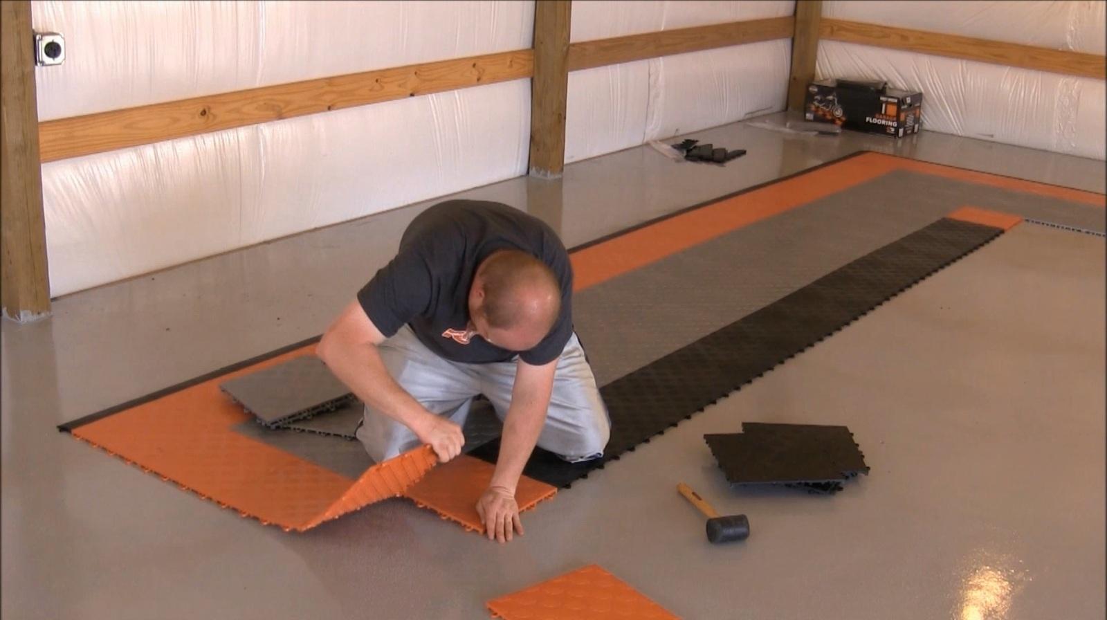 Flooring Hop Up Installing Race Deck Floor Tile