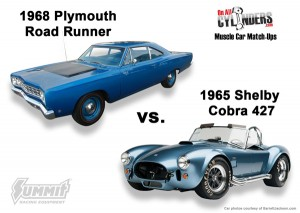 68-Road-Runner-65-Shelby-Cobra