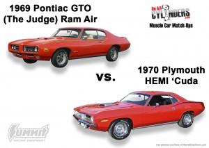69-GTO-vs-70-Hemi-Cuda