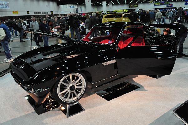 Alan Woodall's 1965 Corvette Coupe C2SS