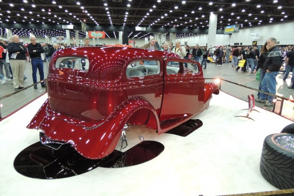 2013 Ridler Award And Pirelli Great 8 1940 Ford Coupe