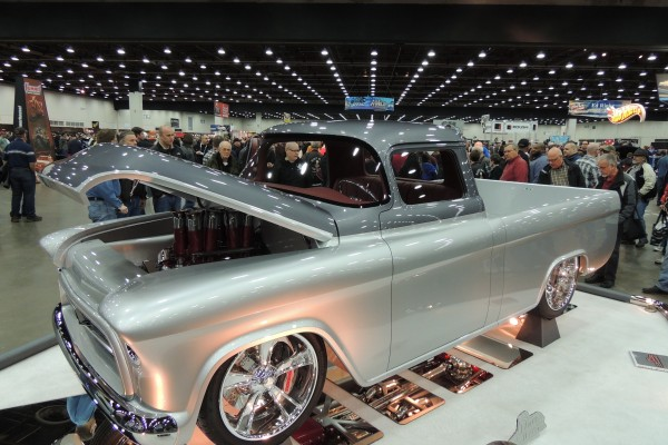 1956 Chevrolet Pickup Quicksilver