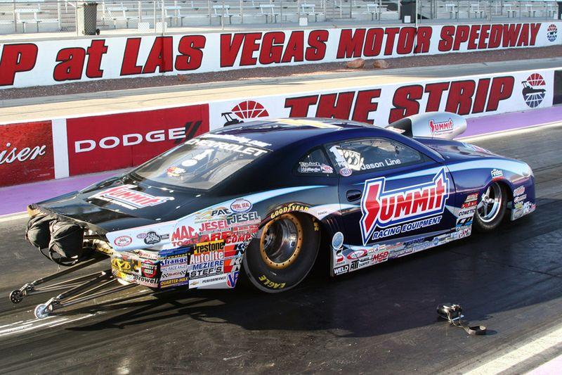Line, Anderson Prepared for Las Vegas Racing