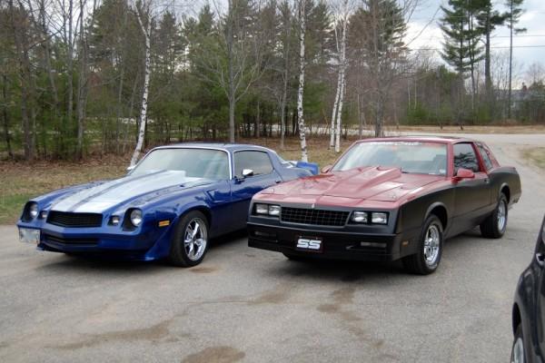 Chevrolet Camaro and Chevrolet Monte Carlo