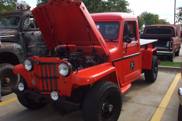 Classic Jeepster hot rod