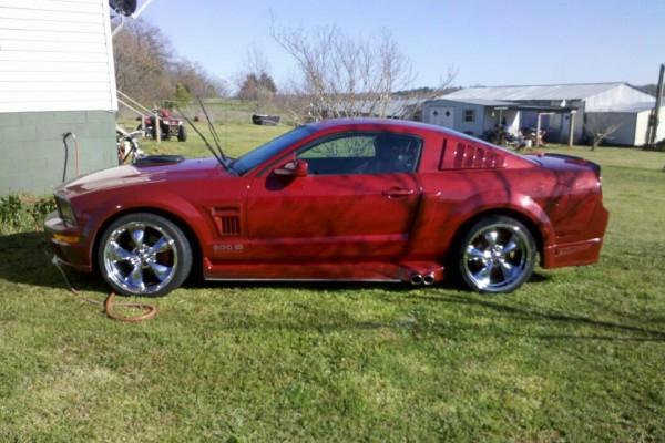 2008 Mustang GT500