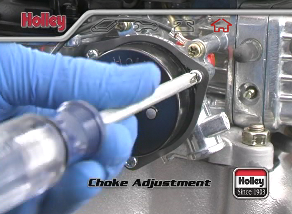 How To Adjust The Electric Choke On A Holley 4-Barrel ... Holley Electric Choke Wiring on