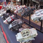 Holley was featuring its extensive line of carburetors, including its new Gen 3 Ultra Dominator--available in sizes up to 1,475 cfm.