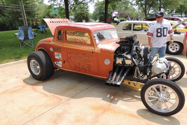 1934 Plymouth Coupe Fuel Car