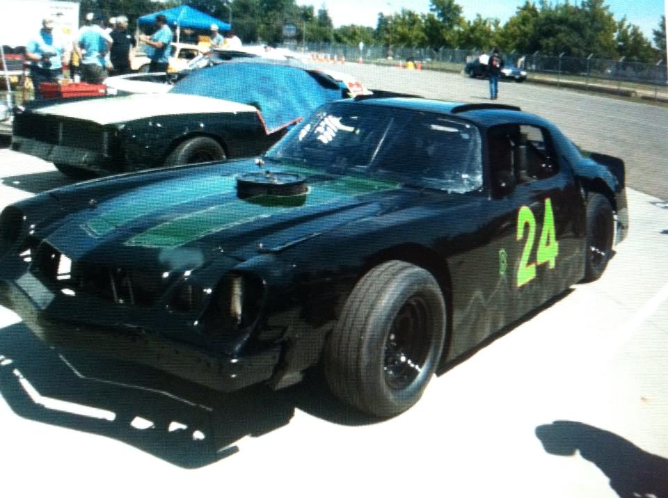 Camaro race car