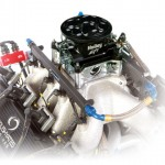 The design and air-flow of the throttle body is the same one used by current NASCAR racing teams.