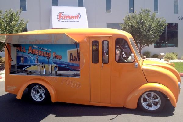 A&W truck
