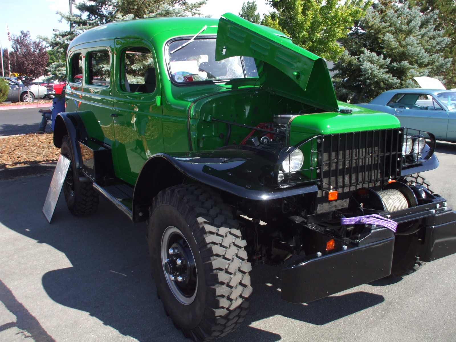 Dodge Wc For Sale >> 1942 Dodge Power Wagon 34 Ton Carryall | Autos Post