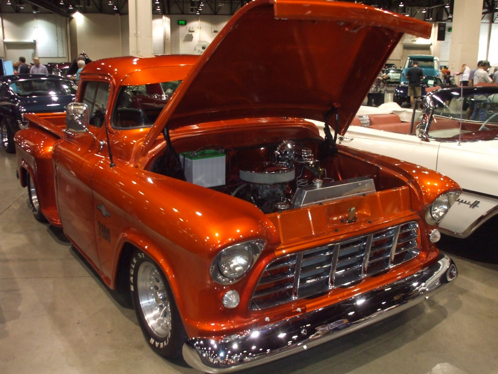 1957 Chevy Truck Paint Colors Our 20 Favorite Rides From The Hot August Nights Barrett Jackson Auction Onallcylinders
