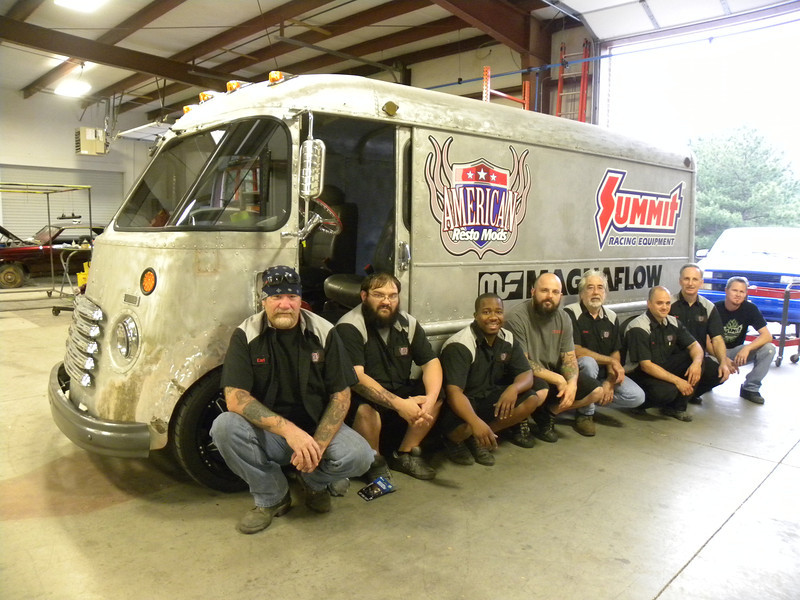 How Rutledge Woods Chevy Step Van Came Together