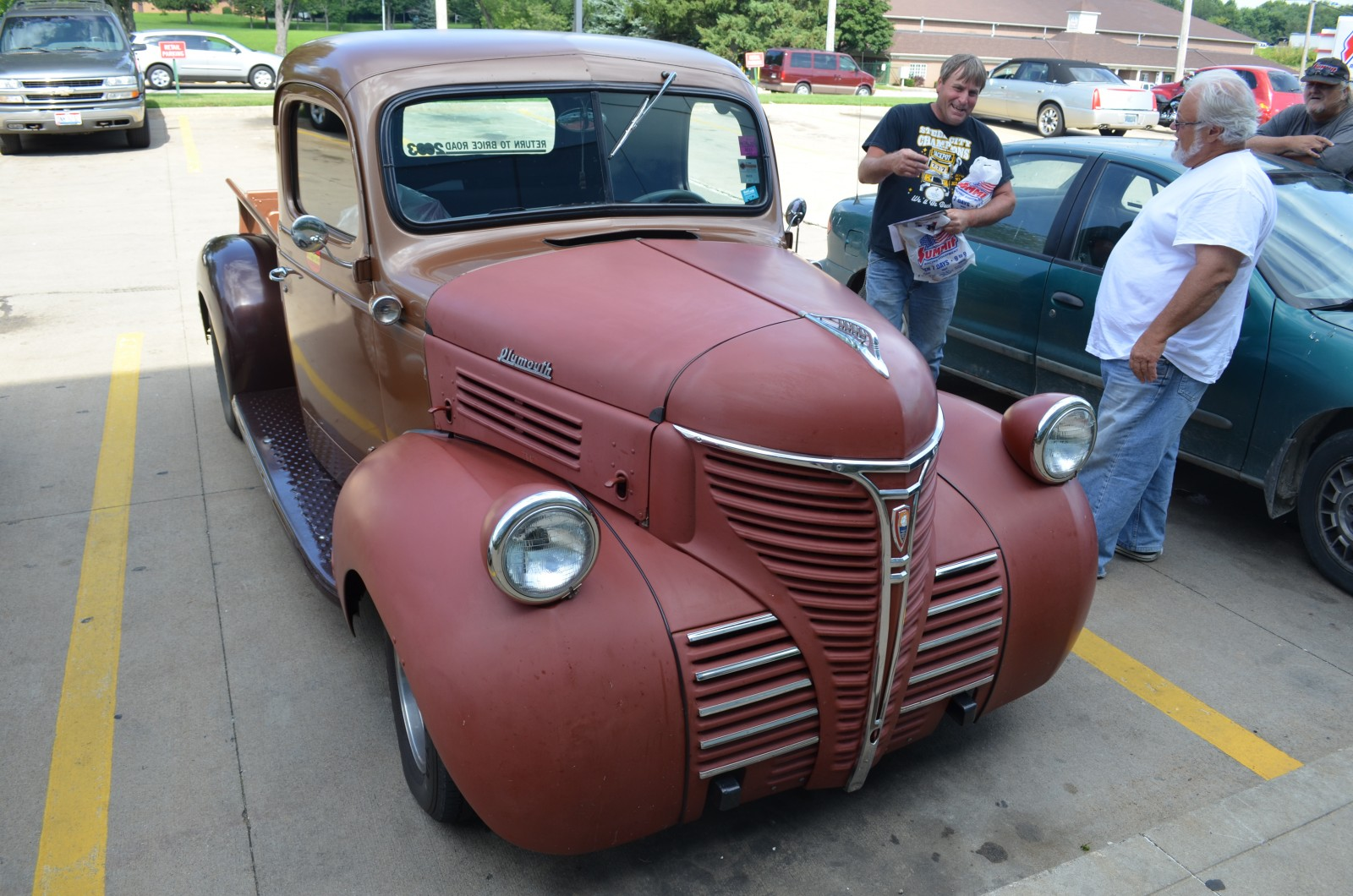 Our Lot Shots Find Of The Week 1941 Plymouth Pt125 Onallcylinders Pro Street