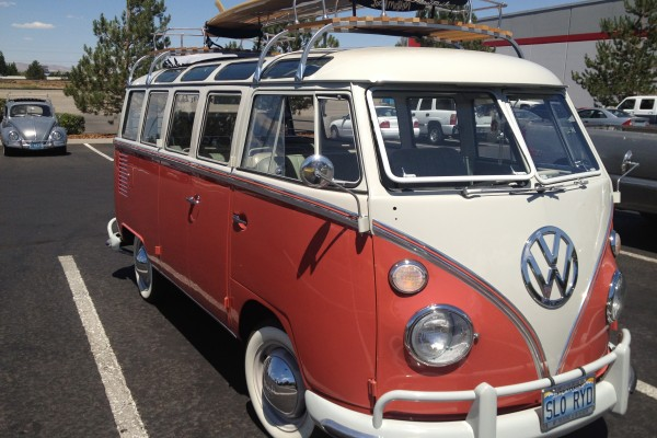 VW Beatle and van 2 - Summit Sparks Monday