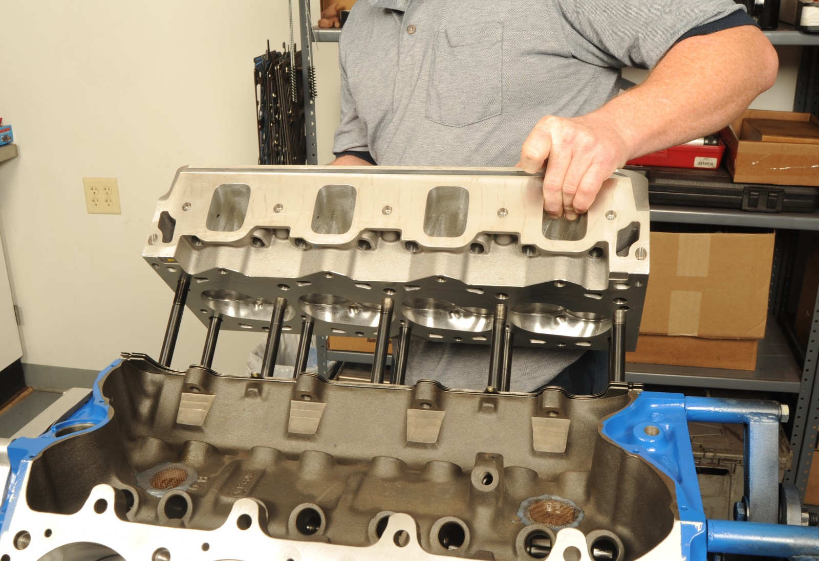 Big Ford Horsepower (Part 2): Installing the Top End on Trick Flow