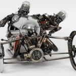 Art Gallery: Sculptor Creates Fine Art from Old Automotive Parts