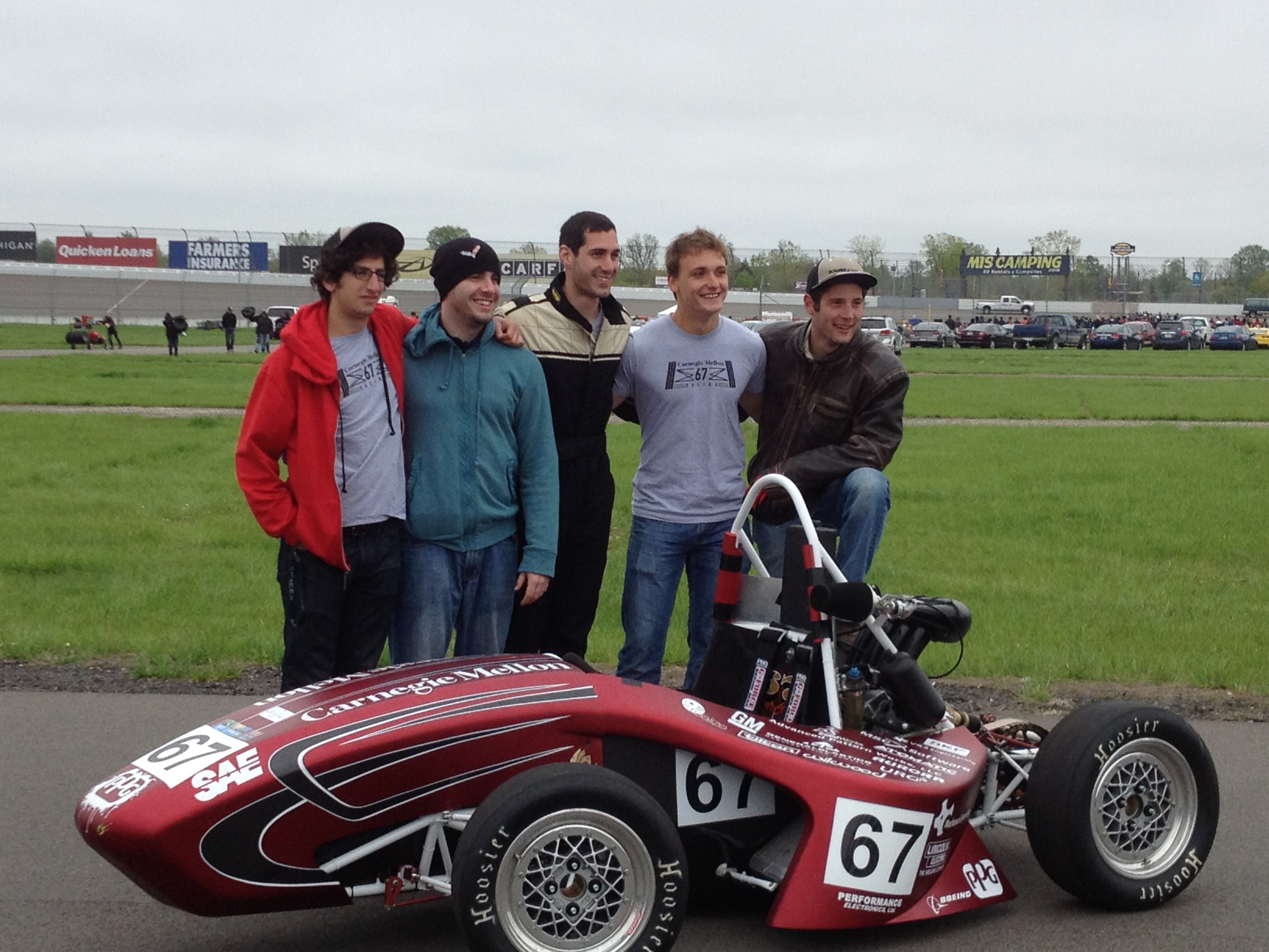 Campus Pit Stop 3 Carnegie Mellon Racing Goes Electric