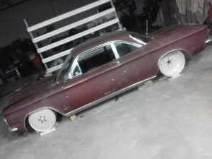 Stange Motion SEMA Corvair