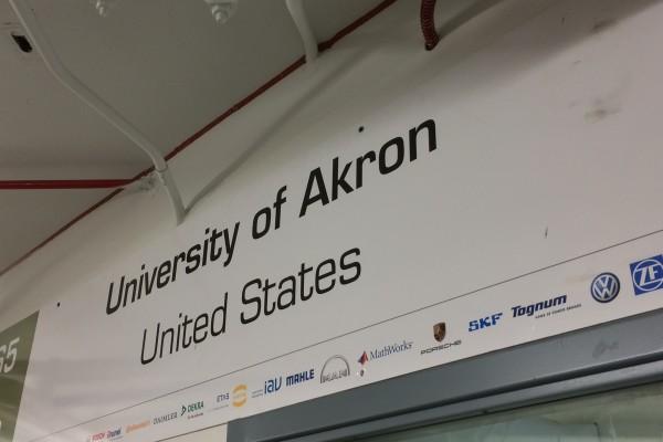University of Akron FSAE 016