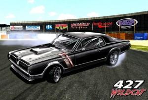 Wes Adkins 427 Wildcat Cougar