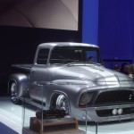 The Snakebit 1956 Ford F-100, which will be auctioned off to help build a children's hospital in Saskatoon, Canada.