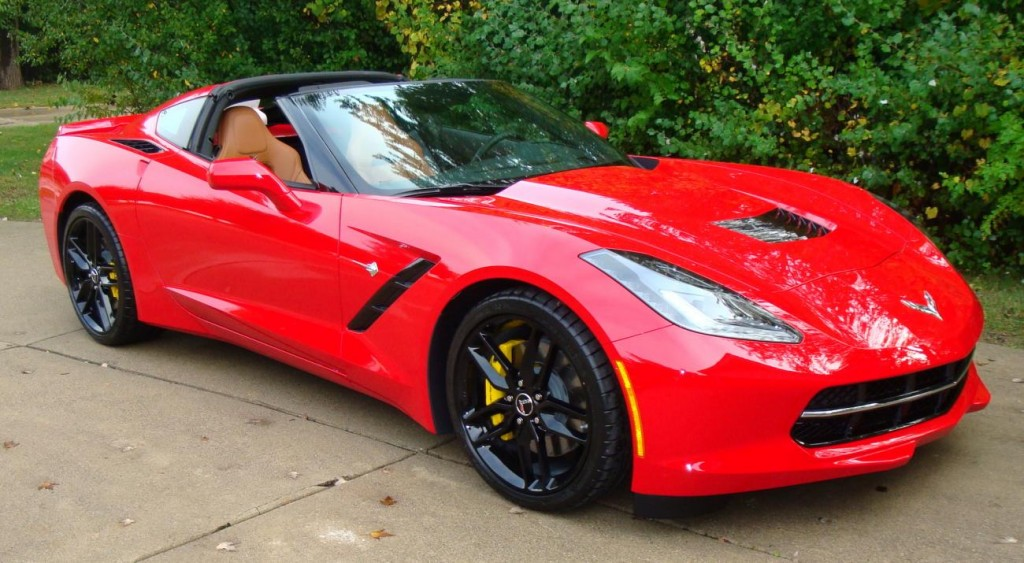 2014 Chevy Corvette stingray red