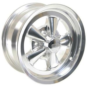 Cragar SS 1 Piece Aluminum Polished Wheel