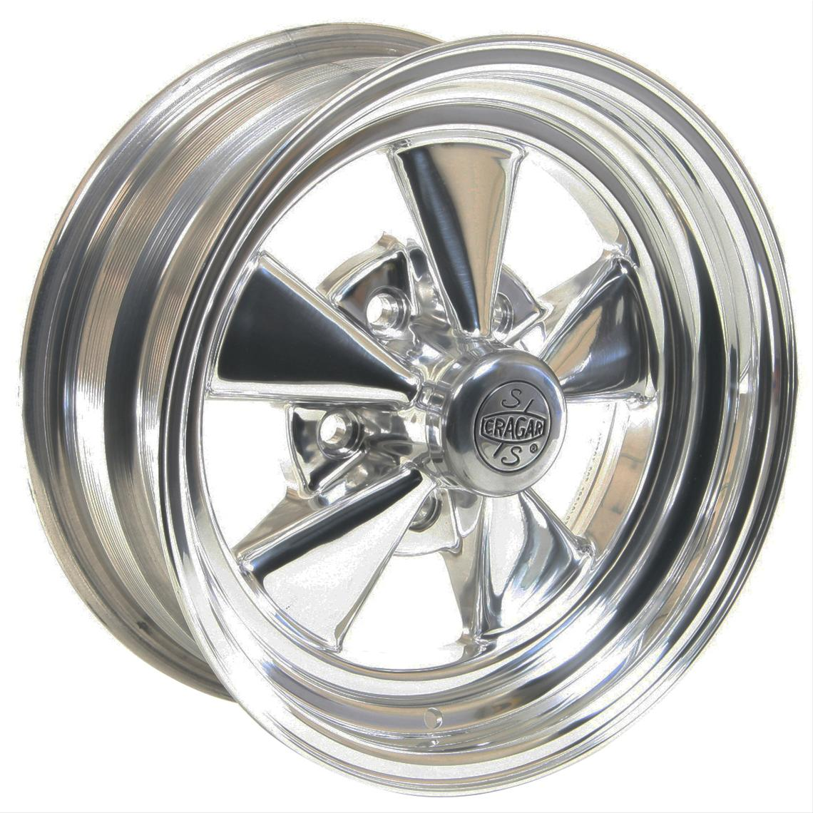 Cragar-SS-2-Piece-Aluminum-Polished-Wheels