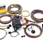 If you are rewiring an early car or truck, make life easy on yourself and get a complete harness like this Painless Performance 18-circuit universal harness. The harness has virtually everything you need to wire the whole truck, including a preterminated fuse block and color-coded circuits for lights, gauges and dash, electric fuel pump, distributor and coil, electric fan, heat and A/C, wipers, and more. Painless Performance also has fuel injection wiring harnesses to swap a late model fuel injected engine into your vehicle. Available for GM TBI, TPI, LT1, and Vortec engines, plus Ford 5.0Ls, the harnesses have color-coded circuits and relays for fuel injectors, distributor, electric fuel pump, ECU, starter, and all necessary sensors.
