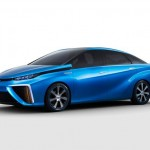 Toyota says it will introduce a hydrogen fuel cell-powered vehicle in 2015.