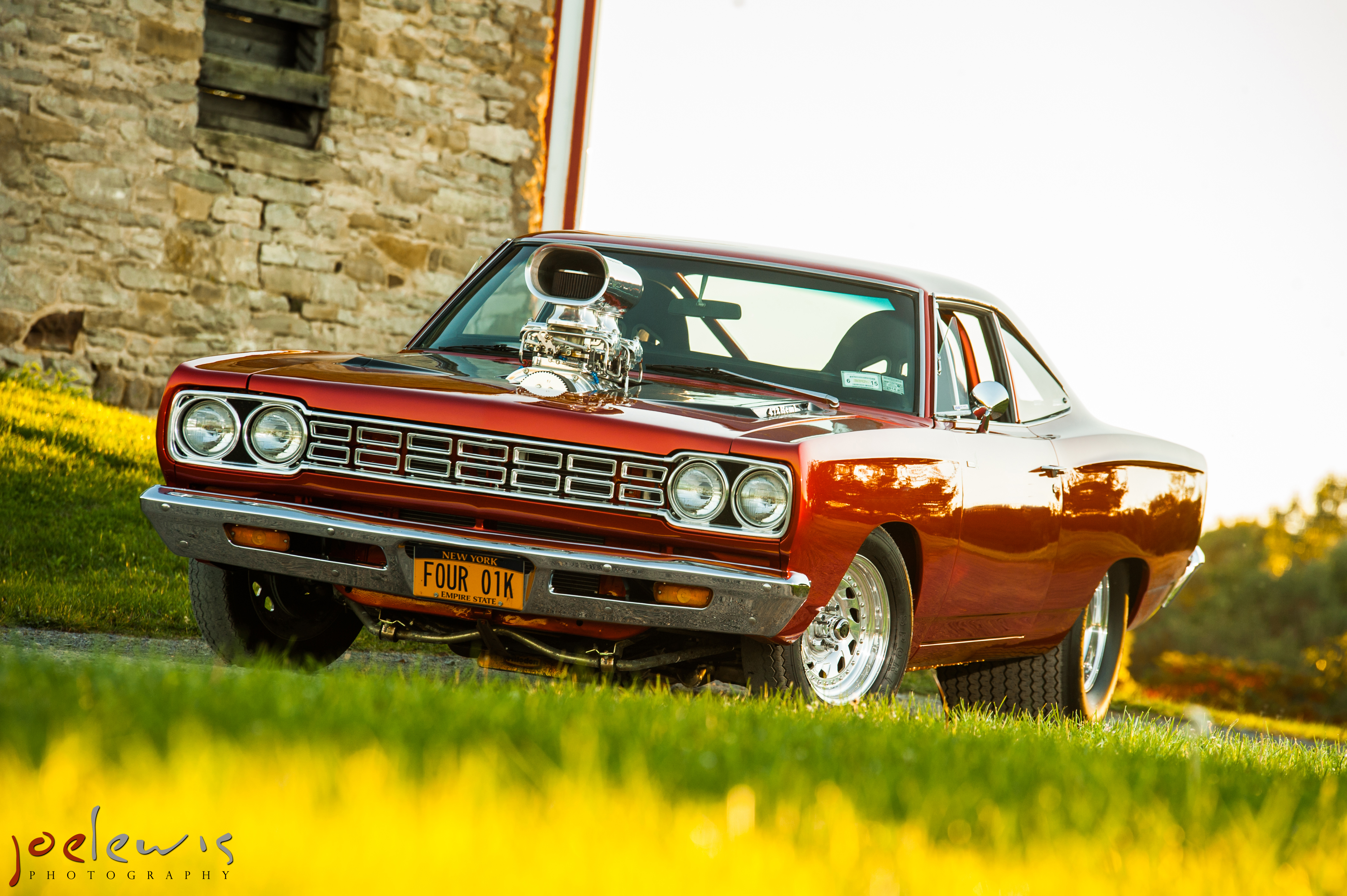 Farina's 1968 Roadrunner Voted 2013 Facebook Fan Ride of the