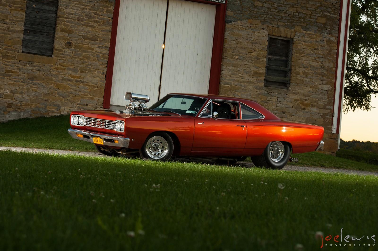 Farina's 1968 Roadrunner Voted 2013 Facebook Fan Ride Of