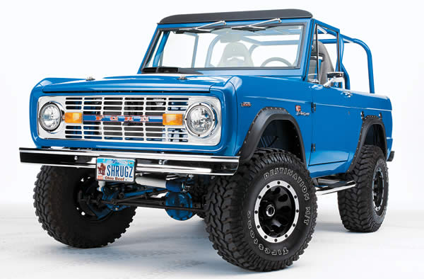 Big Business: Mark Briscoe's 1969 Ford Bronco