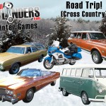 Winter Games (Event #3): Cross-Country Skiing – Best Road Trip Vehicle